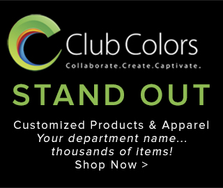 Club colors. Collaborate. Create. Captivate. Stand Out. Customized Products & Apparel Your department name...thousands of items! Shop Now. Click to shop.